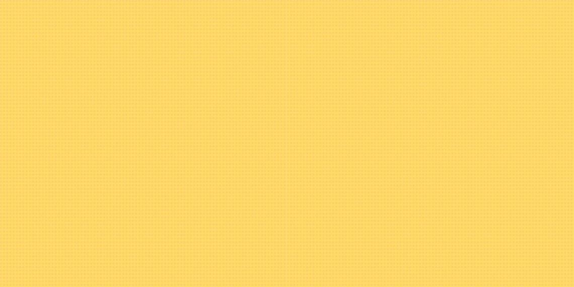 Yellow Halftone Pattern